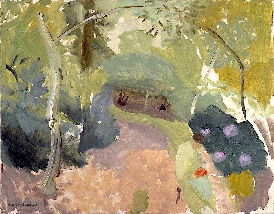 bofransson:  Spring Woodland by Ivon Hitchens