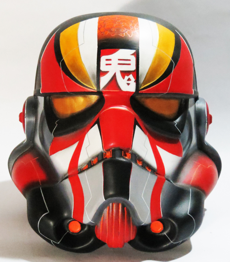 Kabuki Trooper Stormtrooper Helmet By Gabriel Carpio Trampt Library