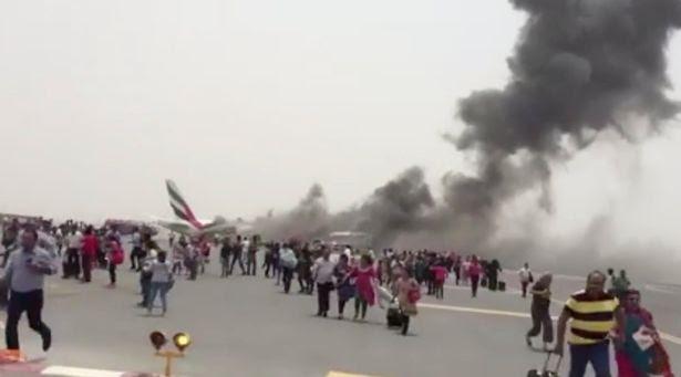 Emirates plane crash