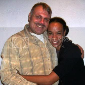 Wolfgang Busch with the dancer and choreographer Edisa Weeks.