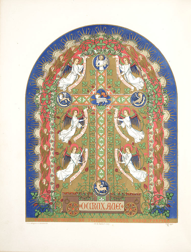 Floriated ornament, a series of thirty-one designs, 1849 - Augustus Welby Northmore Pugin d