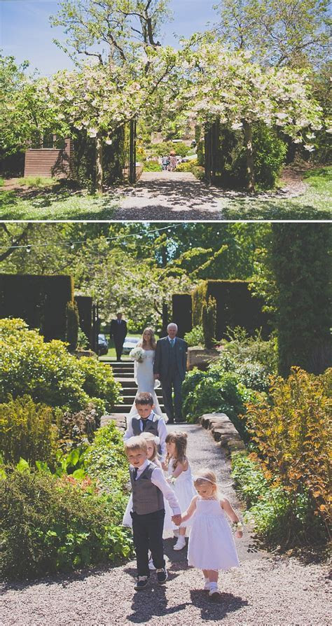 An Elegant White Themed Wedding At The Ness Botanic