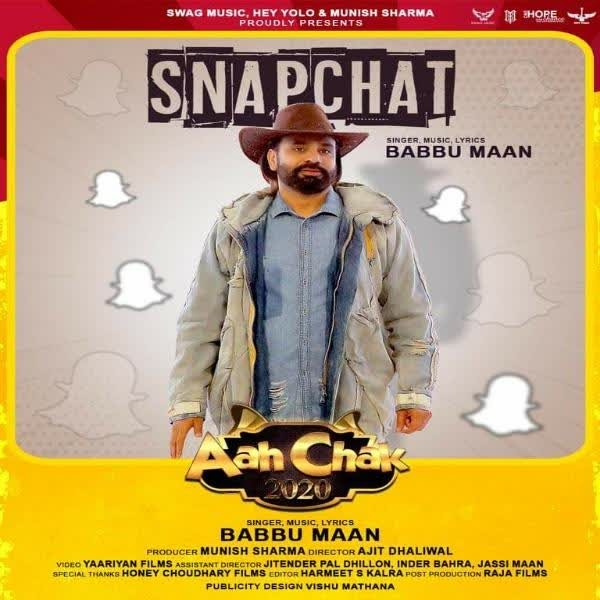 SNAPCHAT(Aah Chak 2020) Lyrics | Babbu Maan
