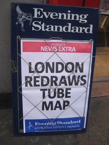 London Redraws Tube Map