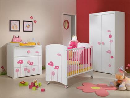 Decoraci n para dormitorios bebe ni as fotos de for Decoracion para bebe nina