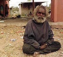 Un aborigen.   Reuters