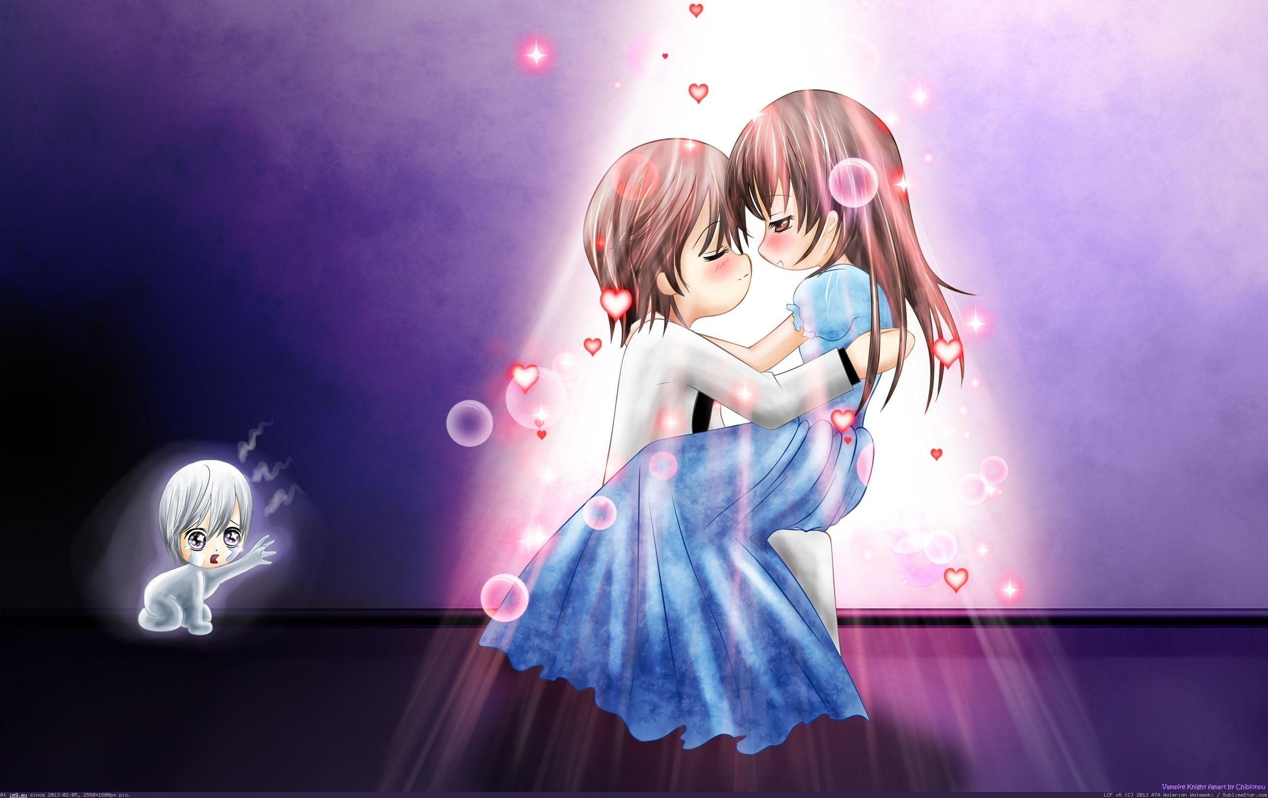 78 Wallpaper Cartoon Romantic HD