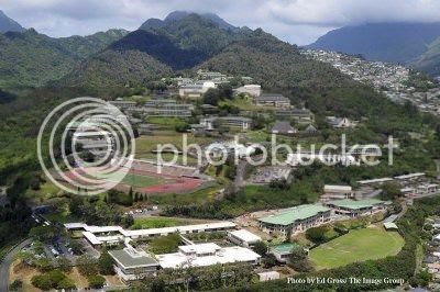 campus of Kamehameha school