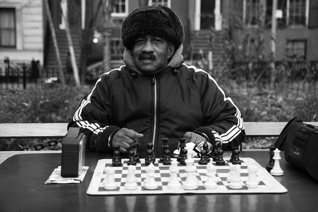 Chess player, NYC