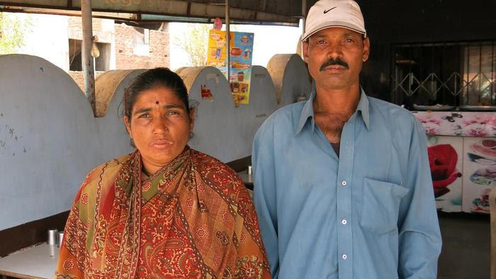 India rape victim beaten