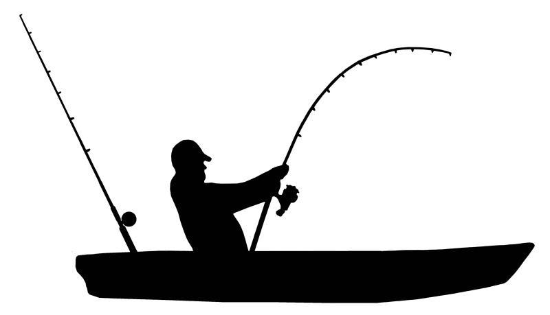 Download Kayak Fishing - Vinyl Sticker