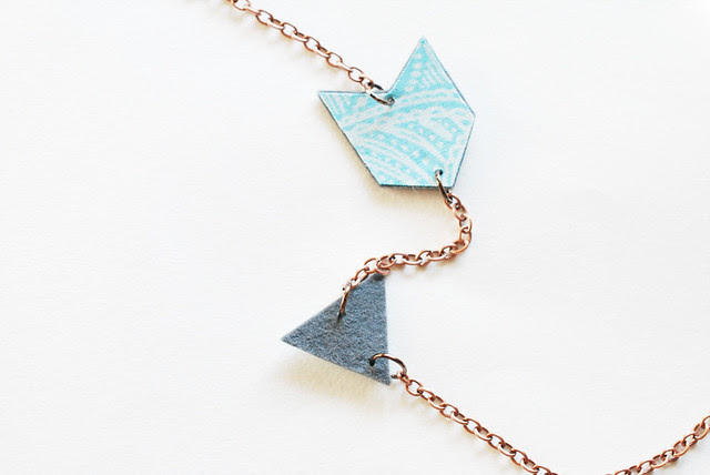 Felt Arrow Necklace