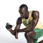 Usain Bolt with NX300-4