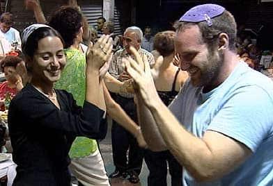 Jews from Iran celebrate Persian Night in Jerusalem.