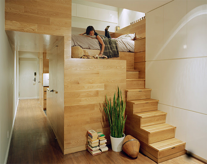12 Tiny-Ass Apartment Design Ideas to Steal   Messy Nessy Chic ...