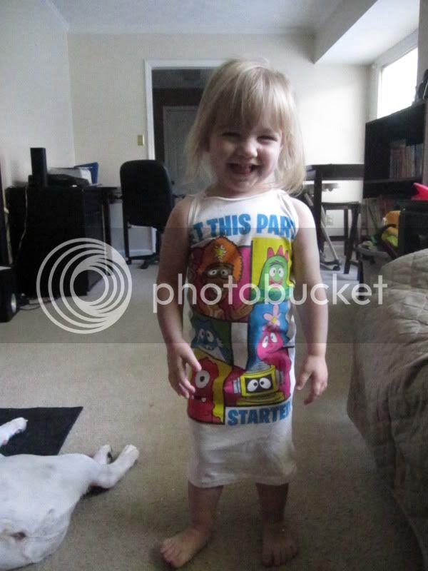 yo gabba gabba baby dress