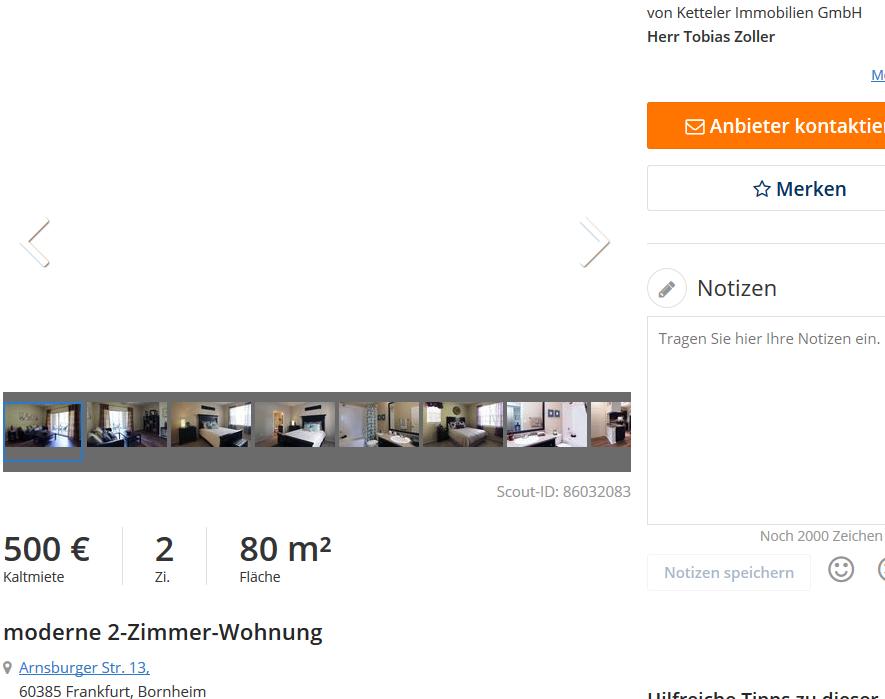 vorkassebetr ger im gehackten makler account von ketteler. Black Bedroom Furniture Sets. Home Design Ideas