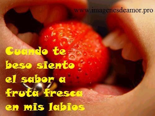 Imagenes De Besos Con Frases De Amor