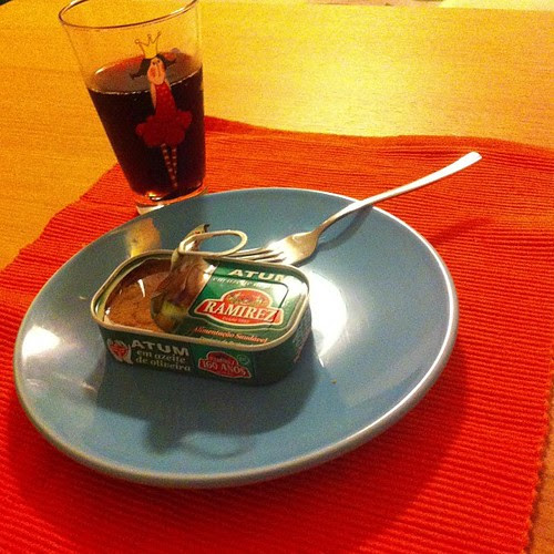 After basketball practice/game...     23:30 #gourmet #dinner with my #ballerina #princess     :) by Joaquim Lopes