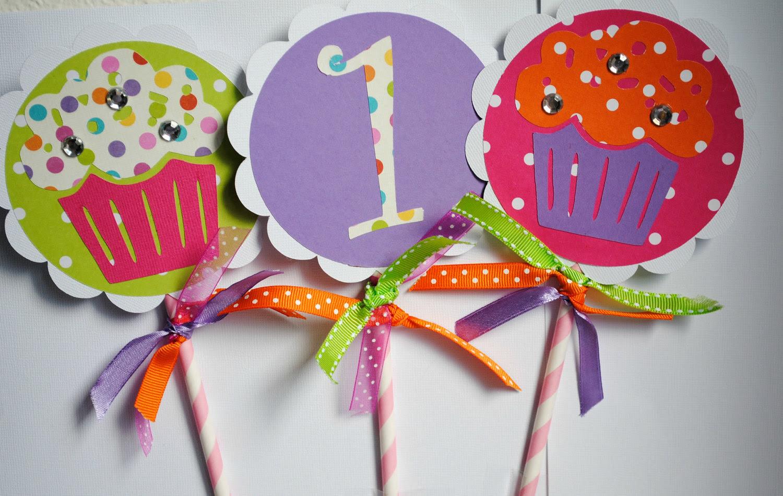 Cupcake Birthday Party Decoration Ideas