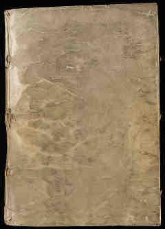 Exterior del manuscrito Voynich
