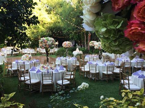 Fairytale outdoor wedding venue in Southern California
