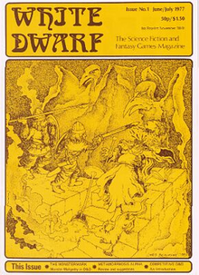 White Dwarf magazine Issue 1 June/July 1977