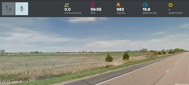 Virtually Biking Across America - Day 67