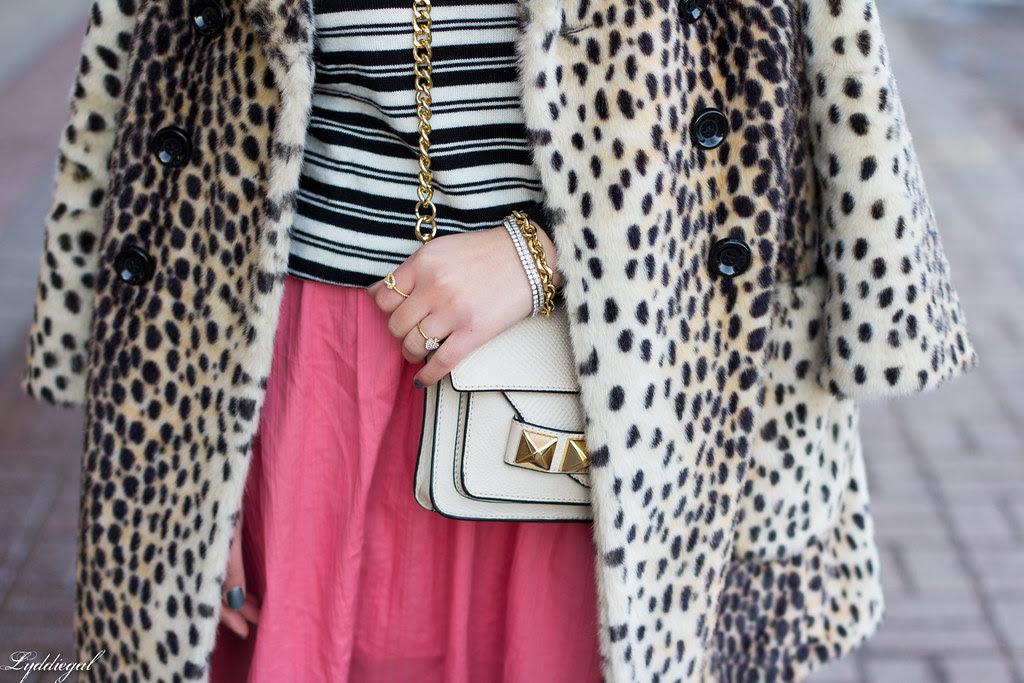 pink skirt, stripes, leopard coat-2.jpg