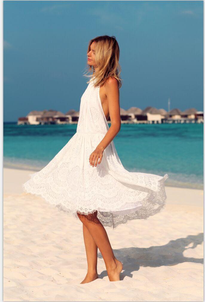 lace dresses beach wedding dresses lace up beach cocktail