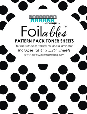 Foilable Pattern Toner Sheets - Geometric 24