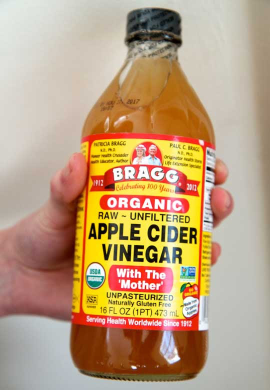 Apply Some Apple Cider Vinegar