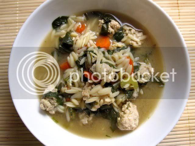 California Style Italian Wedding Soup