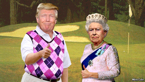 pelukan menyiksa Inggris dari Donald Trump menunjukkan betapa sedikit kemerdekaan itu telah diperoleh dari Brexit