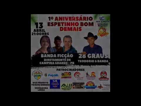 SÃO JOSÉ DOS RAMOS: Venha participar do 1º Aniversário do Espetinho Bom Demais no município de São José dos Ramos/PB..