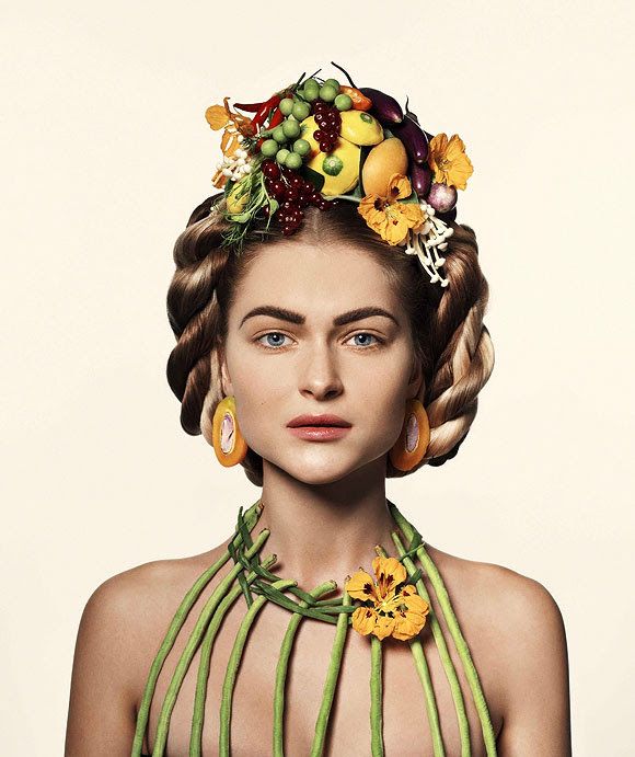 Stine Heilmann, Botanic Couture Flower and Food Beauty