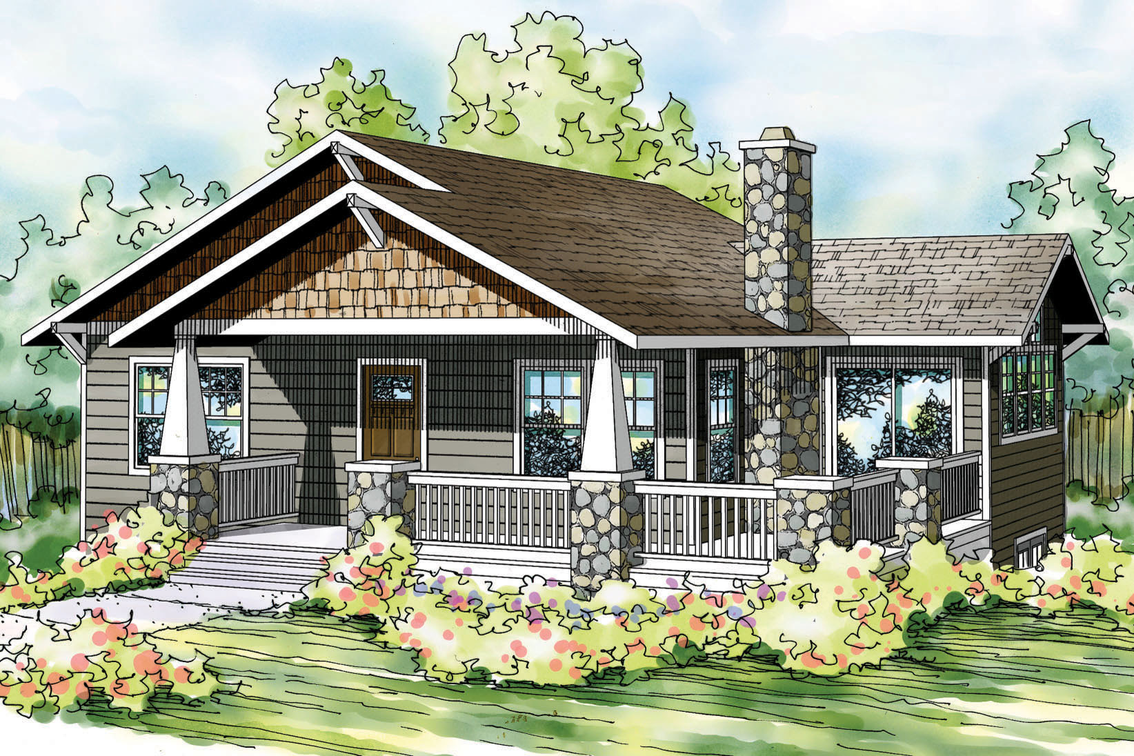 Modern house plans for narrow sloping lots front design for Narrow sloped lot house plans