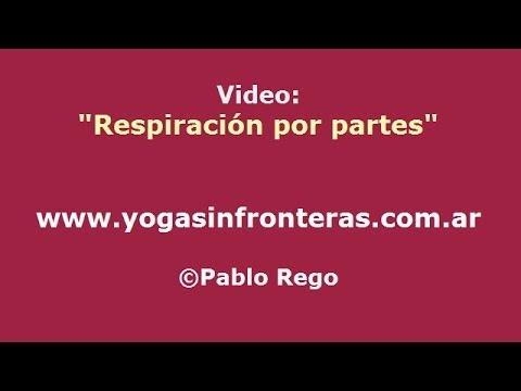 Respiración Yoga: Respiración por partes Pranayama.