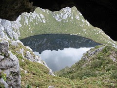 From cave towards Square Lake