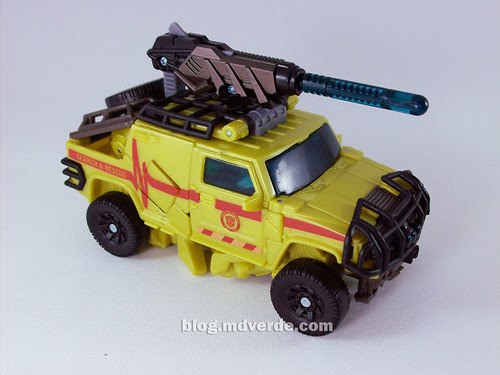 Transformers Ratchet Deluxe RotF NEST - modo alterno