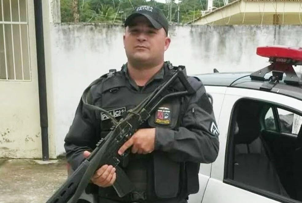 Carlos Eduardo Alves era motorista da Força Tática do 9º BPM, em Natal (Foto: PM/Divulgação)