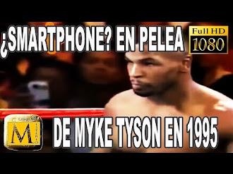 ¿Prueba De Viaje En El Tiempo? Smartphone En Pelea De Myke Tyson En 1995
