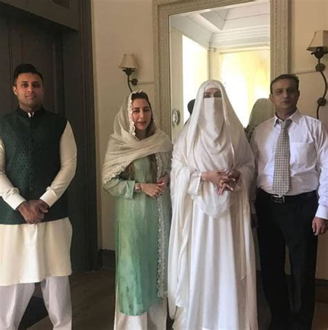 Prime Minister Imran Khan with his Wife Bushra at Oath