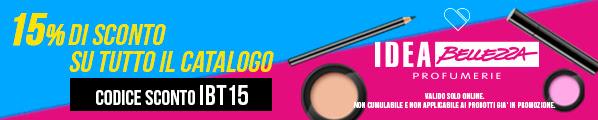 Idea Bellezza Grandi Profumerie: profumi, make-up, creme e prodotti per l'igiene a prezzi mai visti!