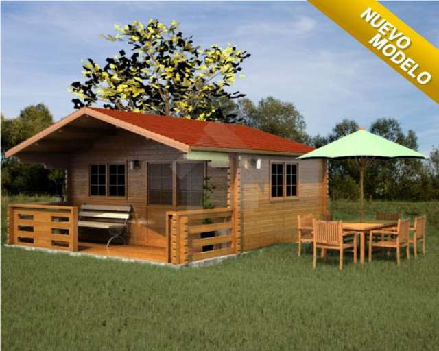 Casas de madera prefabricadas casas prefabricadas en - Casa de maderas prefabricadas ...