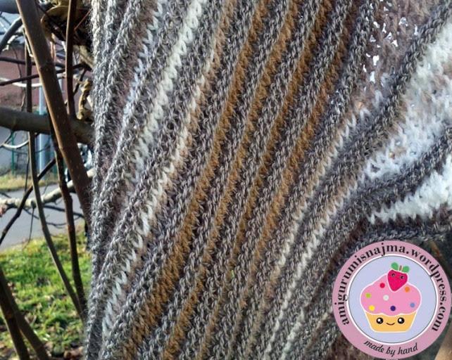 knitted shawl wool