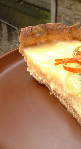 Tarte au citron et à l orange sanguine