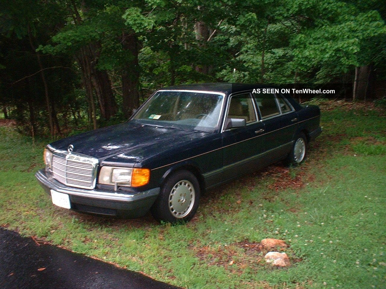 1988 Mercedes Benz 420 Sel - Mercedes Mechanic Replaced Engine
