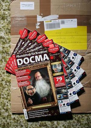 Belegexemplare Docma Magazin