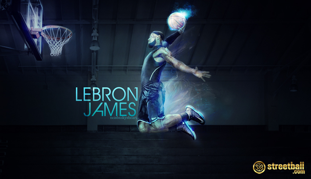 Lebron James Dunking Wallpapers - Wallpaper Cave